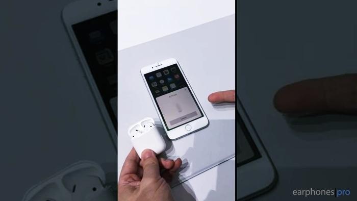 วิธีใช้หูฟัง iPhone 7 วิธีใช้ Airpods ของ Apple หูฟัง iPhone 7 ใช้ยังไง
